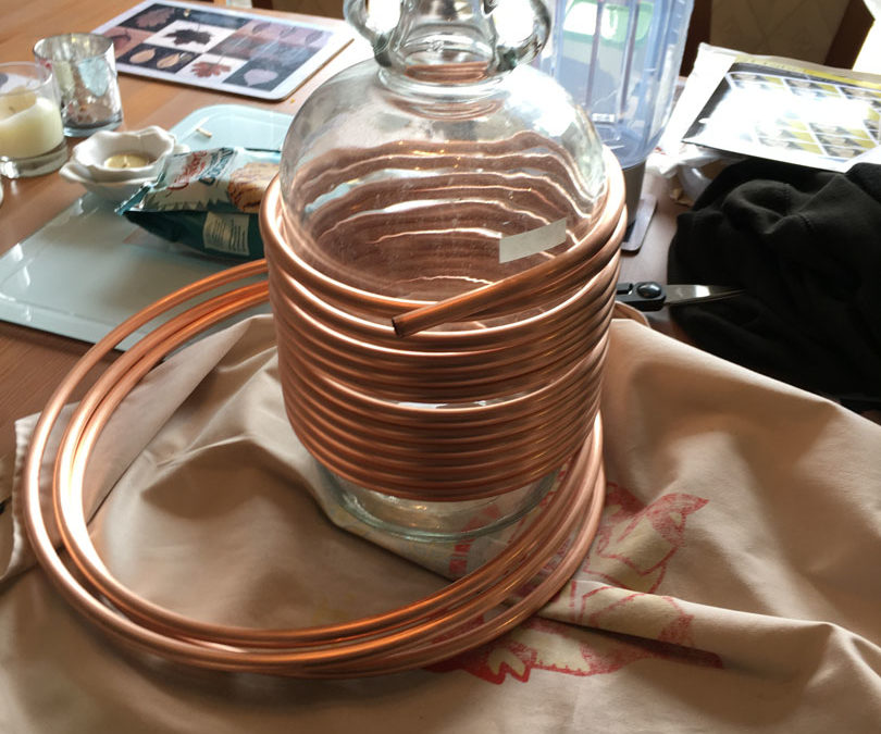 Immersion Chiller DIY Project
