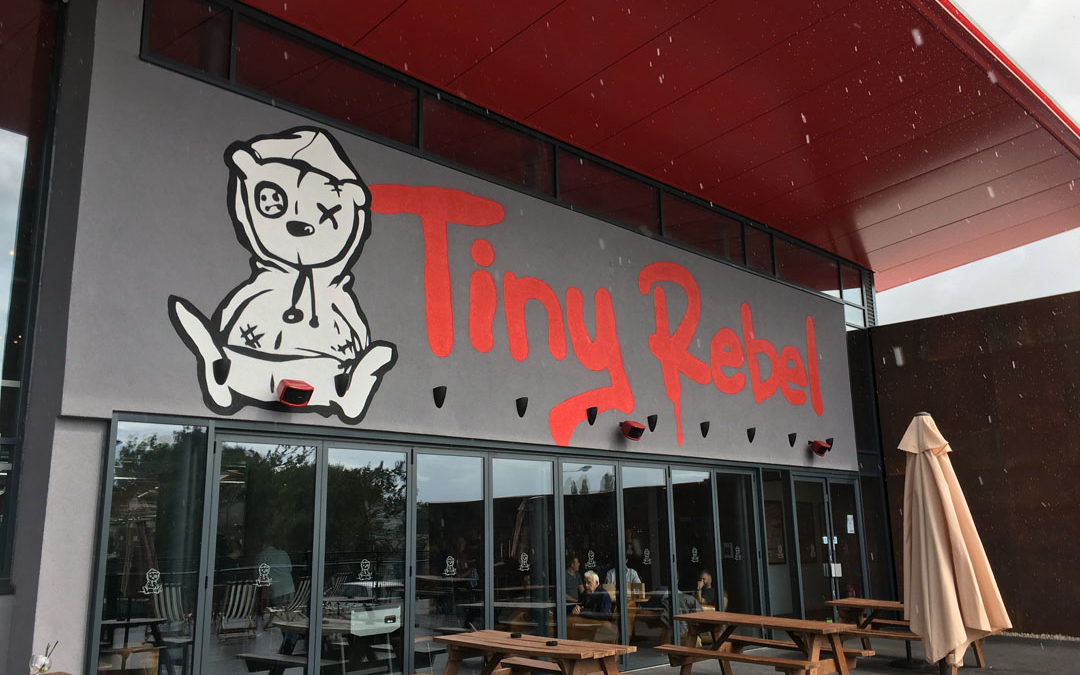 Craft Brewery – Tiny Rebel, Newport Wales
